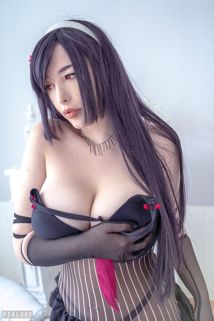 Hot Asian Pialoof Black Lingerie