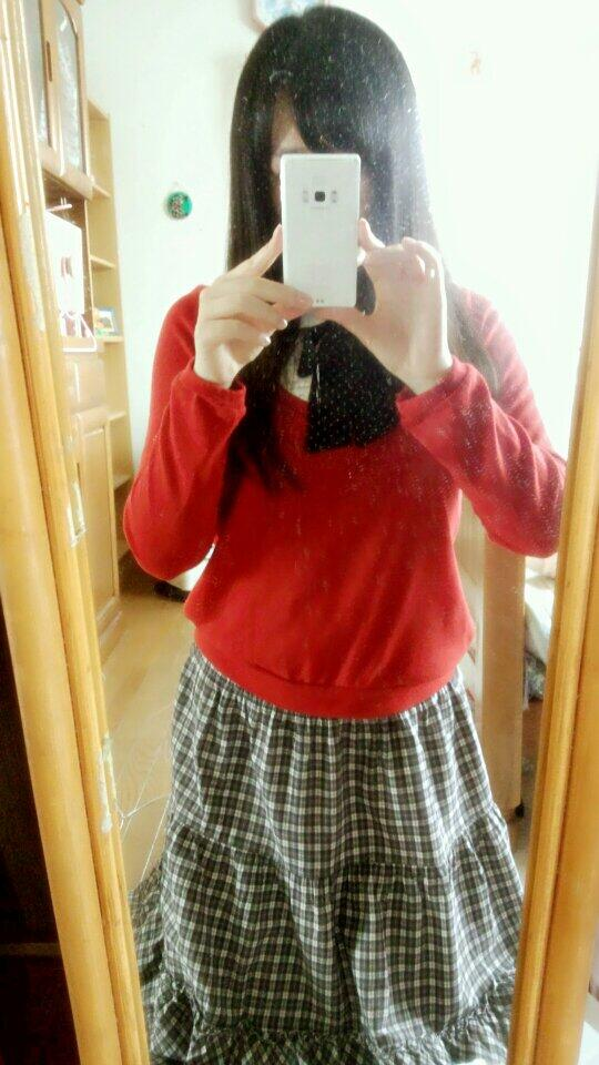 18yo Japanese teen naughty in front of her mirror
