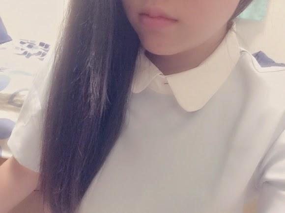 Skinny Japanese girl wet underwear