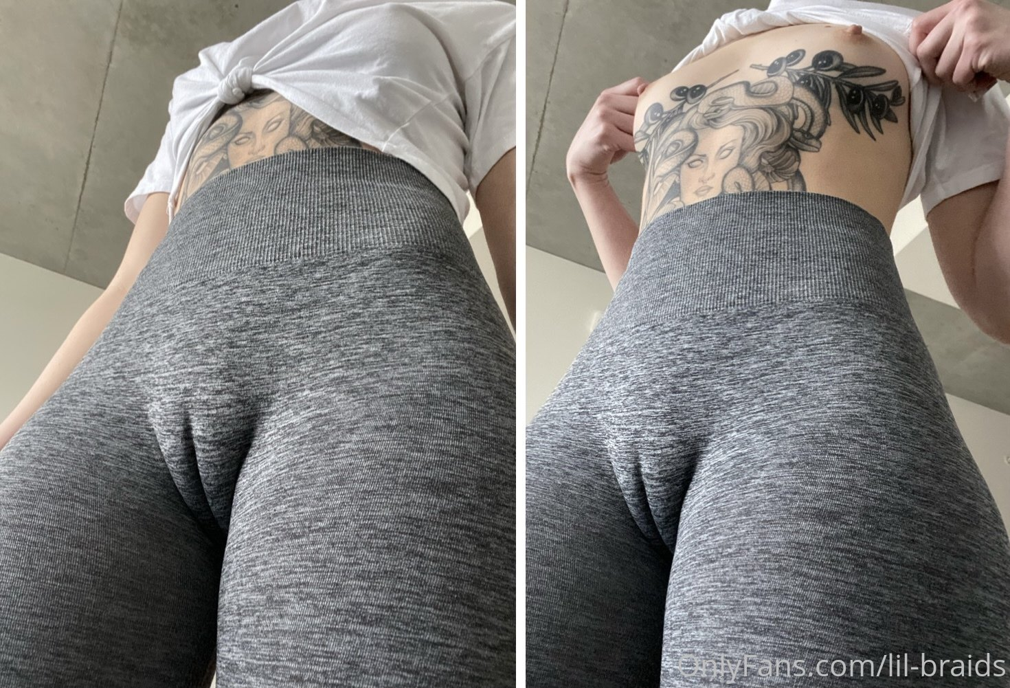 Hot ass babe @lil-braids nudes
