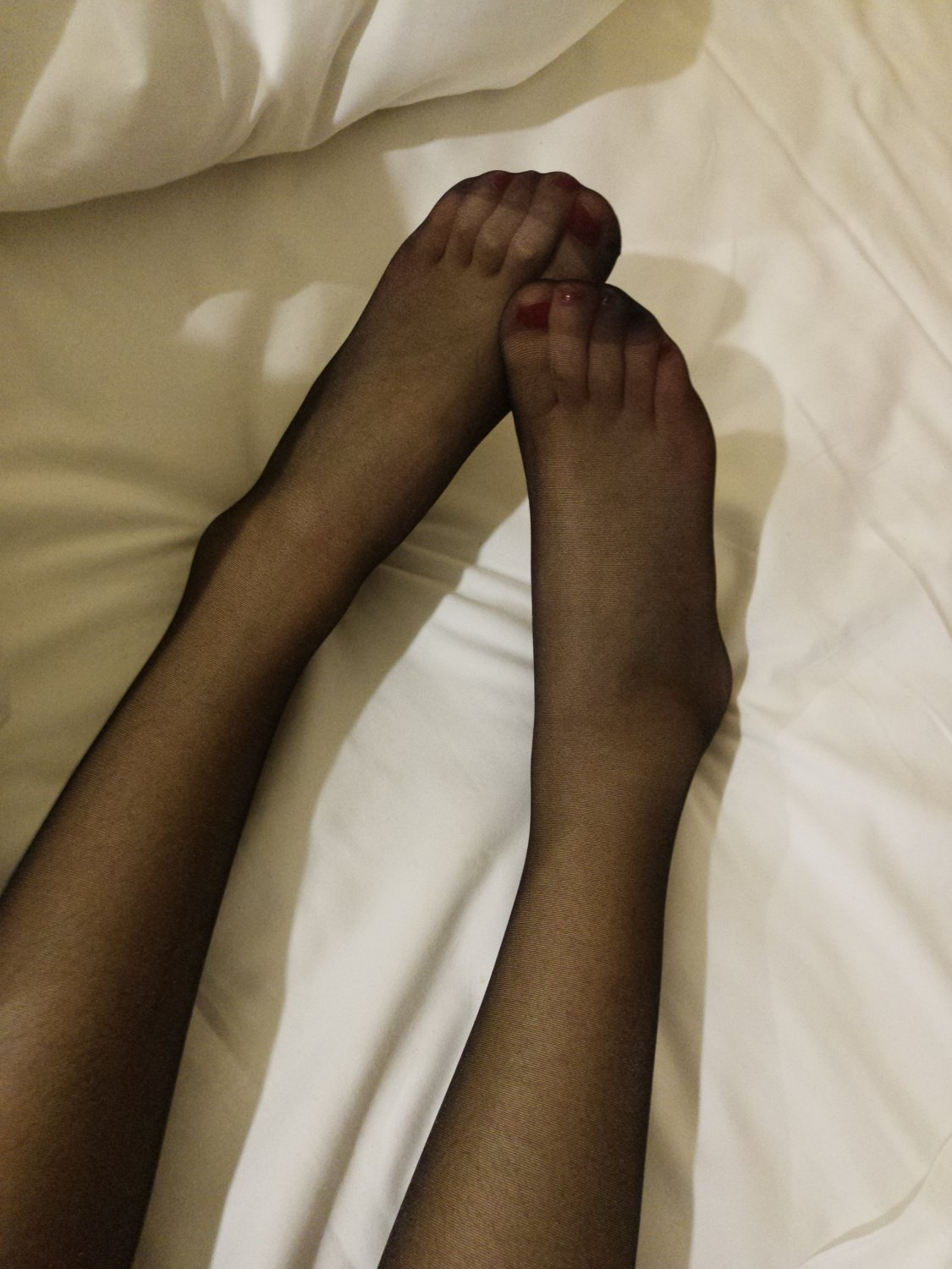 Super Sexy Skinny Asian Teen With Black Stocking